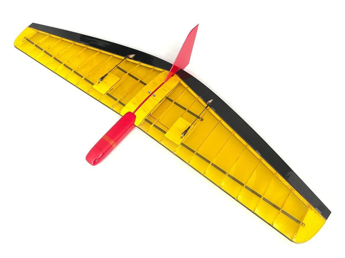 Shaka Slope Glider in Yellow transparent